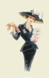 Продаю. картину Дама с собачкой