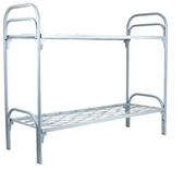 кровати металлические,  кровати двухъярусные для строителей