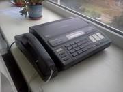 Факс Panasonic KX-F130 BX ( термобумага) в рабочем состоянии
