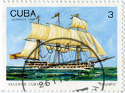 Марка Cuba correos 1989