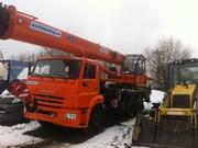 Автокран Клинцы КС-55713-1К-4,  25 тонн,  31 метр,  Овойд. 6х4.