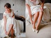 Продам шикарное по своему покрою свадебное платье в идеальном состояни