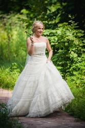 Продам свадебное платье б/у самара