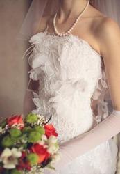 нежное свадебное платье самара