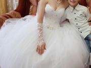 Прекраснейшее свадебное платье
