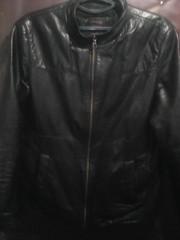 Куртка из натуральной кожи,  весенняя
